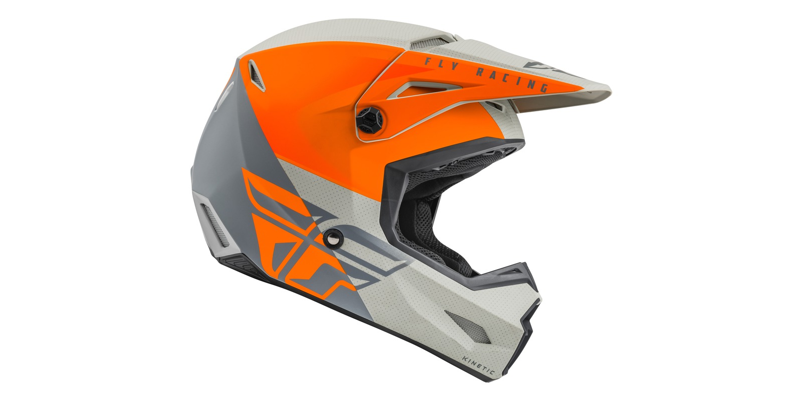 Fly KINETIC STRAIGHT orange/grey