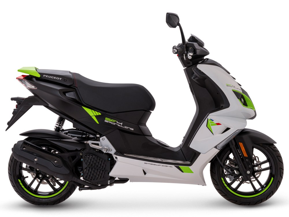 Peugeot SPEEDFIGHT 4 125ii Sportline Fluo Apple
