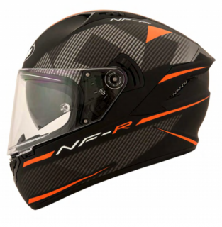 KYT NF-R LOGOS orange