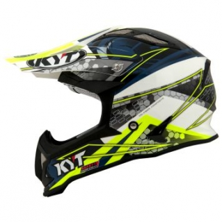 KYT STRIKE EAGLE WEB white/blue