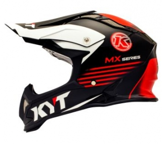 KYT STRIKE EAGLE K-MX black/red