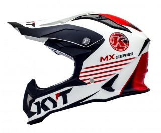KYT STRIKE EAGLE K-MX white/red